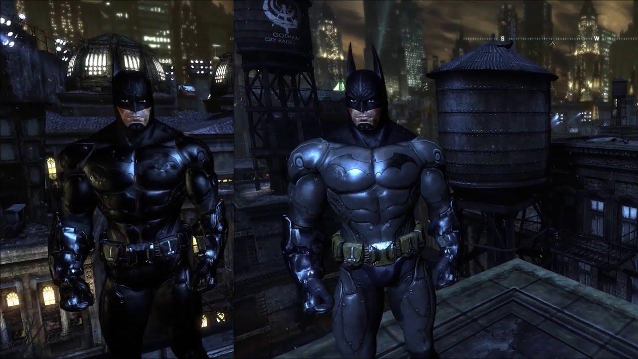 arkham city armored batsuit