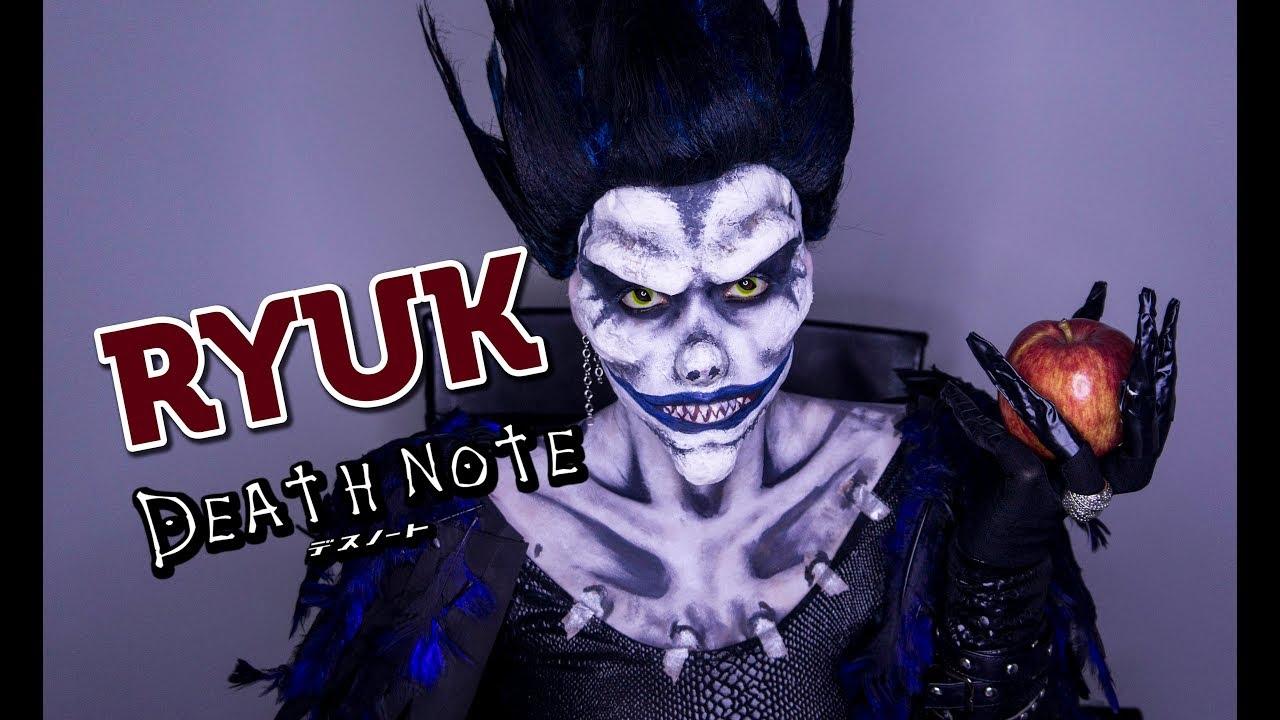 Ryuk Death Note Makeup Tutorial Especial Cosplay Animes Games Maquiagem Artistica