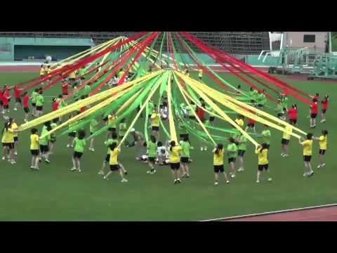 熊本市立必由館高校 2011'4/30 体育祭 2年女子