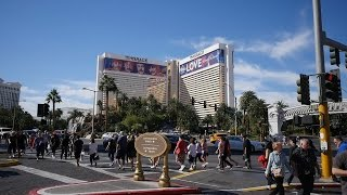 """Las Vegas Boulevard Quick Walk. """"Real Russia In The US"""" ep.16"""
