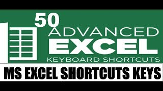 Top 50 Excel Shortcut in Hindi