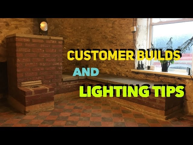Rocket Mass Heater Customer Builds and Lighting Tips