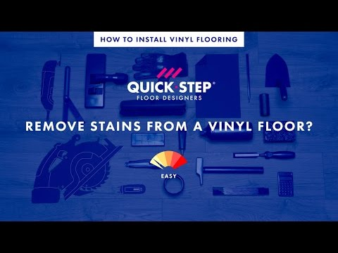 How to remove stains from a vinyl floor | Tutorial by Quick-Step