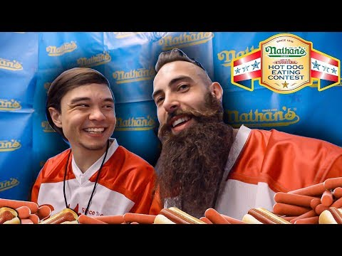 BEARD VS MATT STONIE...AND OTHER EQUALLY IMPORTANT EATERS | NATHAN'S FAMOUS HOT DOG CONTEST 2019