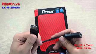 Bán dây displayport sang hdmi, cáp displayport ra hdmi âm chính hãng DTech chính hãng
