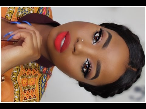 BLACK OWNED MAKEUP BRANDS TUTORIAL + OUTFIT  || RESPONSE TO JACKIE AINA