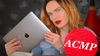 АСМР ASMR Распаковка MacBook Pro 2016, обзор, сравнение. шепот, триггеры