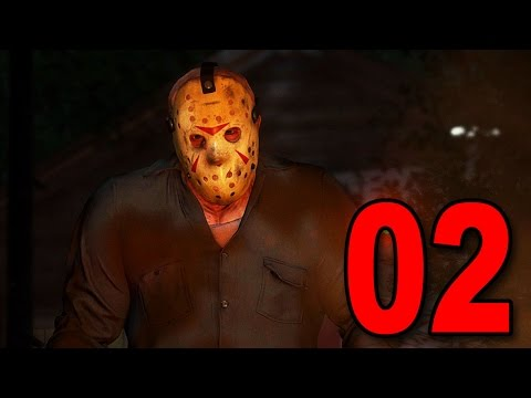 Friday the 13th The Game - Part 2 - PLAYING AS JASON!  [Beta Gameplay]