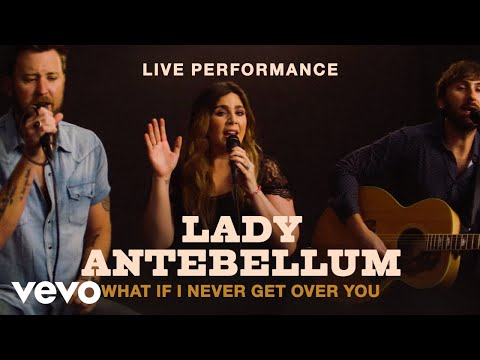 What If I Never Get Over You (Live @ Vevo)
