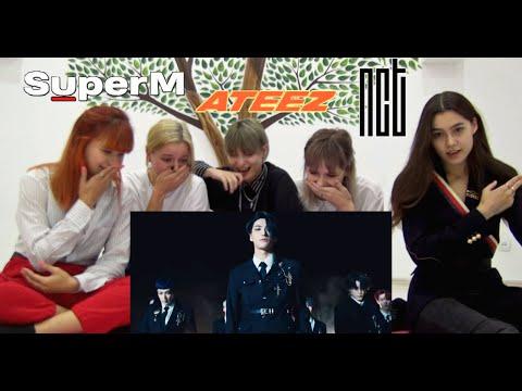 ATEEZ - WONDERLAND (MV+Showcase) Reaction   Реакция + SuperM 'Jopping' and NCT U 'BOSS'