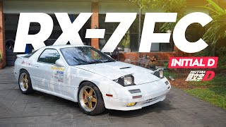 RX7 FC Initial D by Pengepul Mobil Review