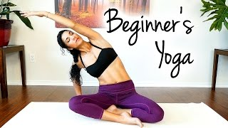 Complete Beginners Yoga Class and Easy Workout – Ease into it w/ Sanela