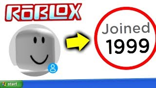 I Found A Time Traveler From 1999 In Roblox