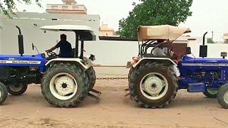 New holland 3630 vs Farmtrack tractor tochan