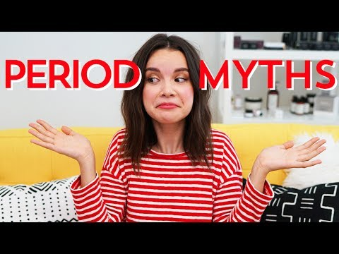 Period Myths! What's True + What's Not | Ingrid Nilsen