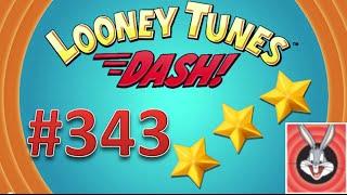 Looney Tunes Dash! level 343 - 3 stars - looney card.
