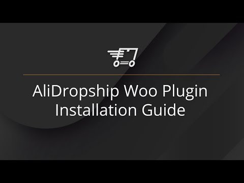Installation guide for AliDropship Woo plugin (for Woo