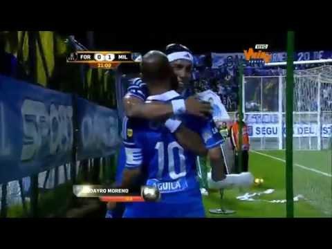 Santa Fe vs Millonarios (0-1) Fecha 7 Liga Postobón 2014-I from YouTube · Duration:  37 seconds