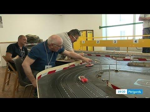 Slot Racing à Neuvic (24) la passion de la conduite modèle réduit