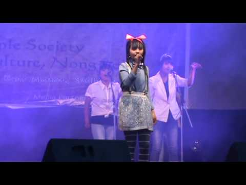 Becky G (shower) Perform By Rihun In Voice Hunt 2014-15