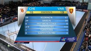 Full Game. Chekhovskie Medvedi - Vardar 6.12.2014 HD