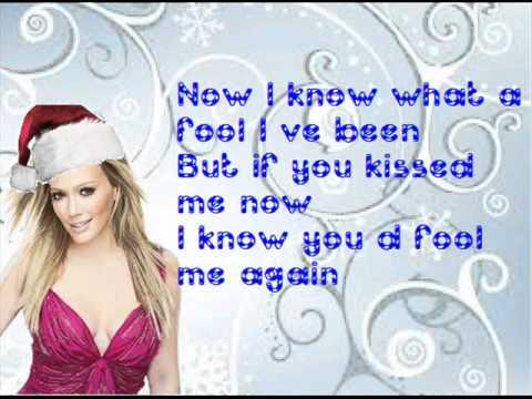 Hilary Duff - Last Christmas [Lyrics]