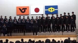 「花」 平成26年度 人吉市立第一中学校 3年4組 校内合唱コンクール金賞 自由曲