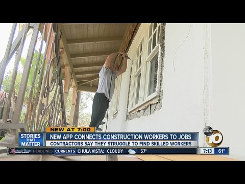 New app connects construction workers to jobs
