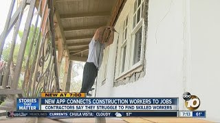 New App Connects Construction Workers Jobs
