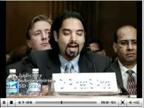 Testimony by Dr. Puneet Arora @ Senate Immigration Subcommittee - 26th July, 2011