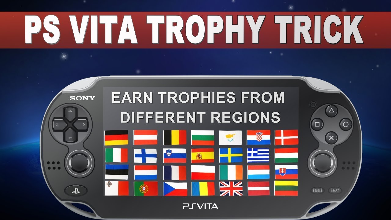 PS Vita Trophy Trick 2019 | Stacking Games on Vita | Multiple Region  Accounts