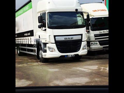 Trucker Jay in the UK: New Truck DAF CF 220 2015 Euro 6