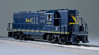 MTH O gauge RailKing GP7 locomotive | a Classic Toy Trains review