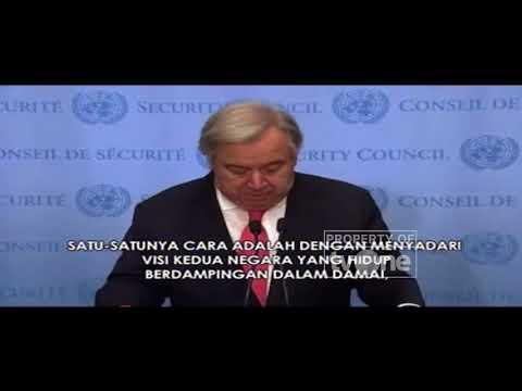 Sekjen PBB Angkat Bicara Soal Keputusan Kontroversial Donald Trump