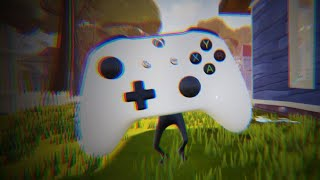 MY NEW NEIGHBOR IS A XBOX ONE CONTROLLER - Hello Neighbor Mod