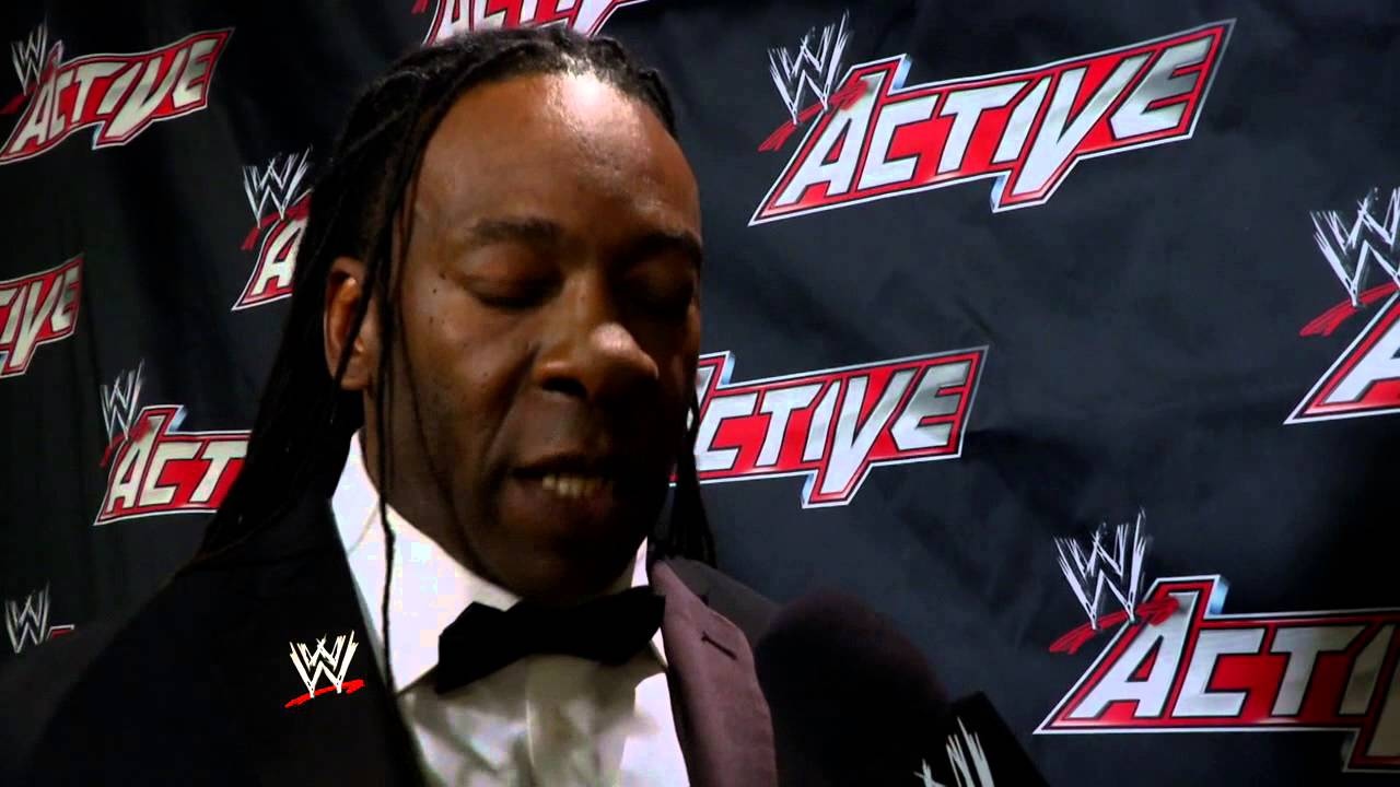 Booker T comments on how he felt on stage at the 2013 WWE ...
