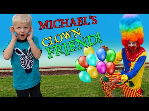 Happy Clown Playtime with Michael!!