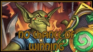 Hearthstone: No chance of winning (miracle rogue)