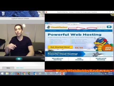 How to host your GoDaddy.COM domain on Hostgator 2016