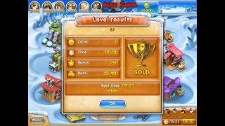 Farm Frenzy 3 Ice Age (level 87) only GOLD Веселая ферма 3 Ледниковый период (уровень 87) Золото