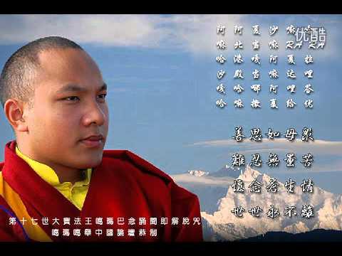 第十七世大寶法王噶瑪巴唱誦《聞即解脫咒》