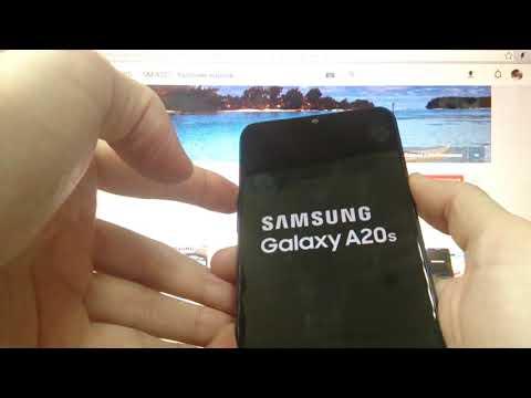 Samsung A20S 2019 Hard Reset Как удалить пароль