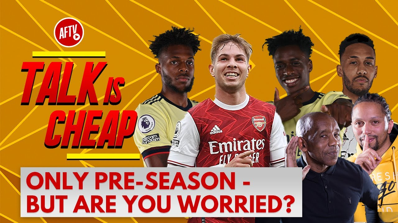Only Pre-Season - But Are You Worried?   Talk Is Cheap