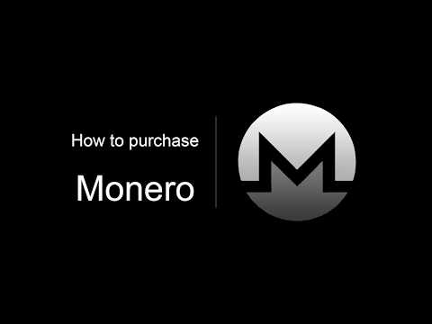 How To Purchase Monero In 2 Minutes