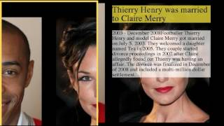 Thierry Henry Dating History