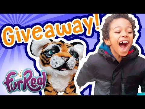 FurReal Friends Tiger GIVEAWAY!!! UPDATE! Winner Announced In Description! 🐯 TottyChoCho