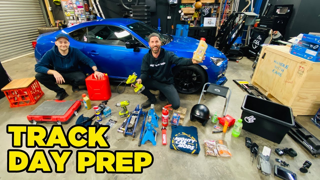 Everything You Need For Your First Track Day