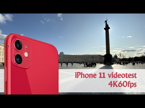 IPhone 11 Video Test 4K60p