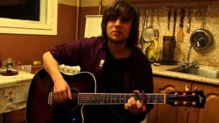 Как играть на гитаре Сплин - Романс. Cover (ссылка на подробный урок в описании)