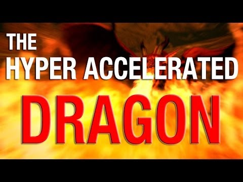The Hyper Accelerated Dragon breathes its own Fire on the Board!